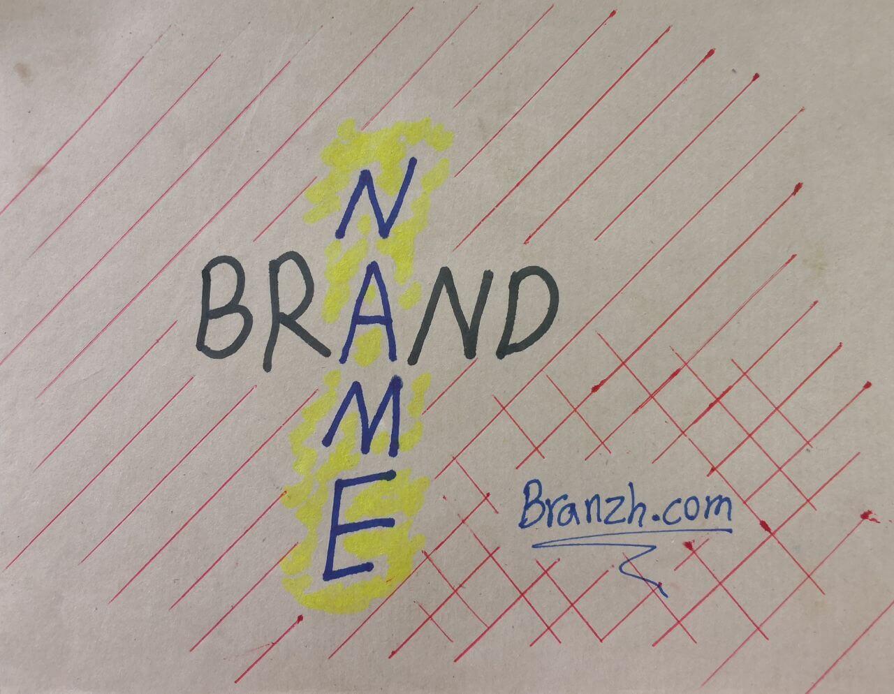 انتخاب اسم زیبا برای برند و کسب و کار