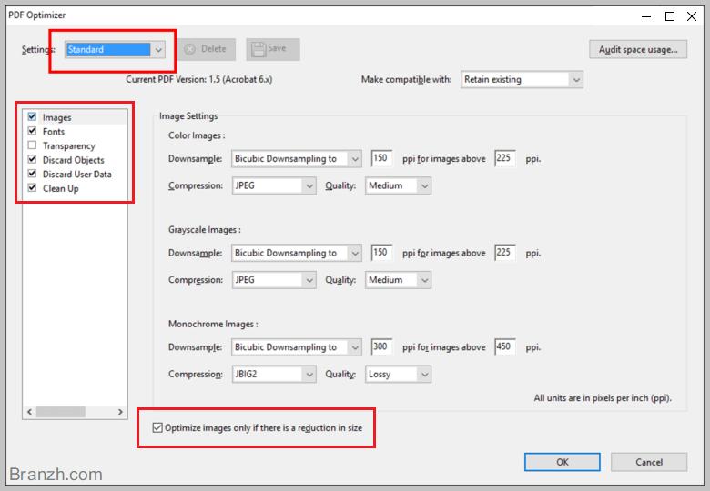 بهینه سازی تصاویر داخل پی دی اف برای سئو