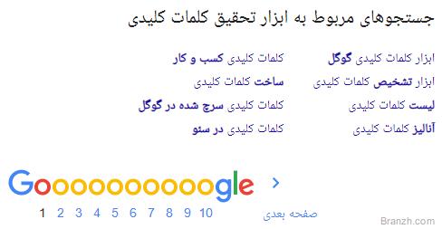 ال اس ای در سئو گوگل