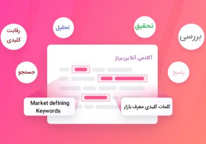کلمات کلیدی معرف بازار Market defining Keywords